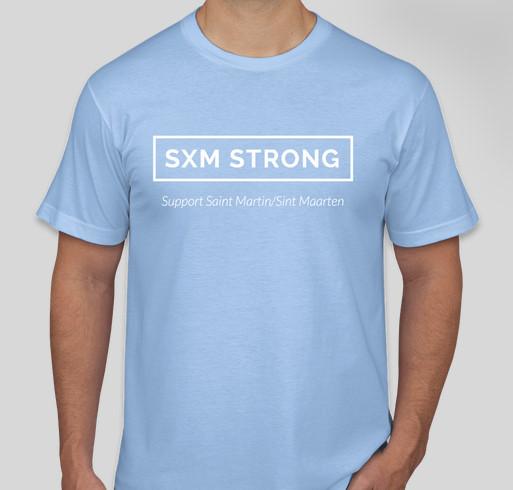 SXM Strong Fundraiser - unisex shirt design - front