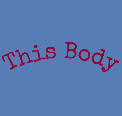This Body Lives in Tank Tops! shirt design - zoomed