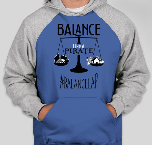 Balance Like a Pirate for Mental Health Awareness and Suicide Prevention Fundraiser - unisex shirt design - front
