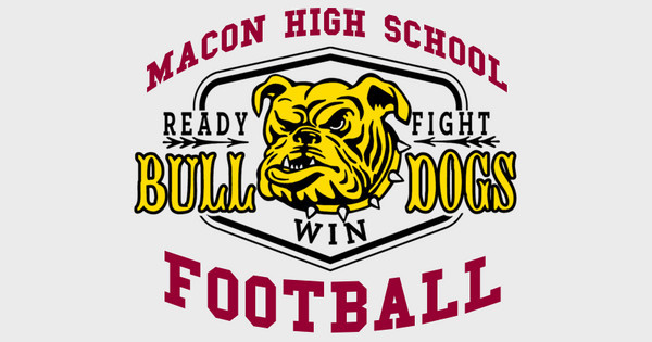 Ready Fight Bulldogs Football