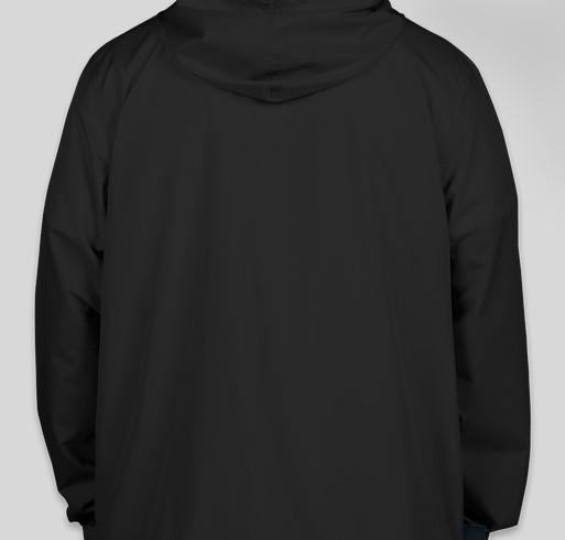 GW Speech and Debate Windbreaker Fundraiser - unisex shirt design - back
