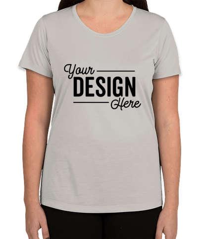 Sport-Tek Women's Soft Jersey Performance Shirt - Silver