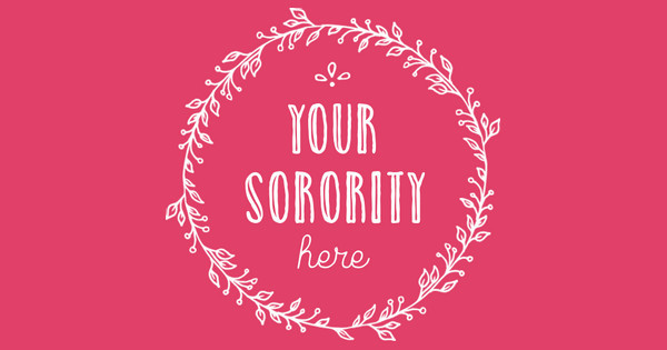 your sorority here