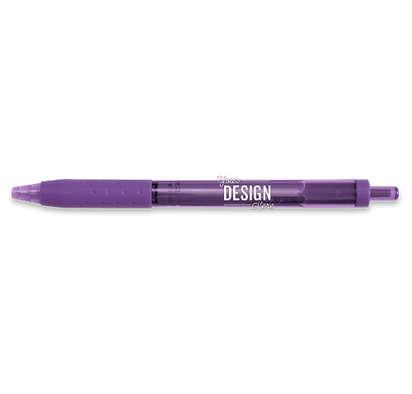 Paper Mate InkJoy Click Pen (black ink) - Purple