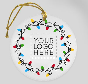 Your Logo Here Ornament