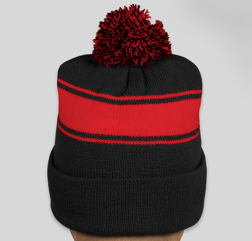 #NationalizeGrid Pom Beanie Fundraiser - unisex shirt design - back