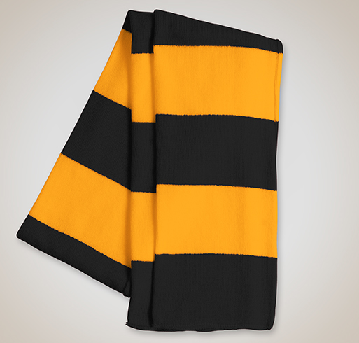 Sportsman Rugby Knit Scarf - Selected Color