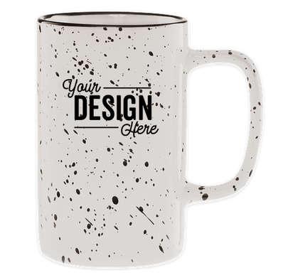 18 oz. Ceramic Tall Camper Mug - White