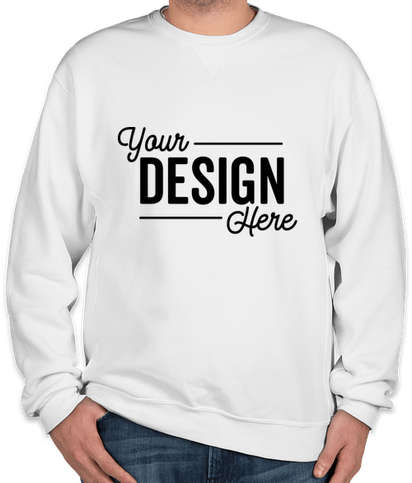 Russell Athletic Dri Power® Crewneck Sweatshirt - White