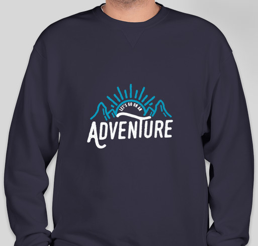 The Big Happy Adventure Fundraiser - unisex shirt design - front