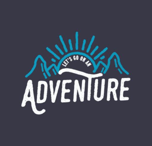 The Big Happy Adventure shirt design - zoomed