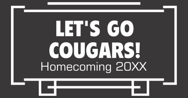 let's go cougars