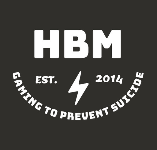 2020 Hunter Burton Memorial - Gaming to Prevent Suicide! shirt design - zoomed