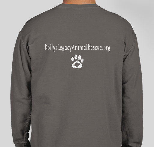 You Can't Buy Love But You Can Rescue It - Fall 2020 Fundraiser - unisex shirt design - back