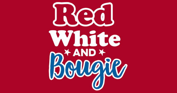 red white and bougie