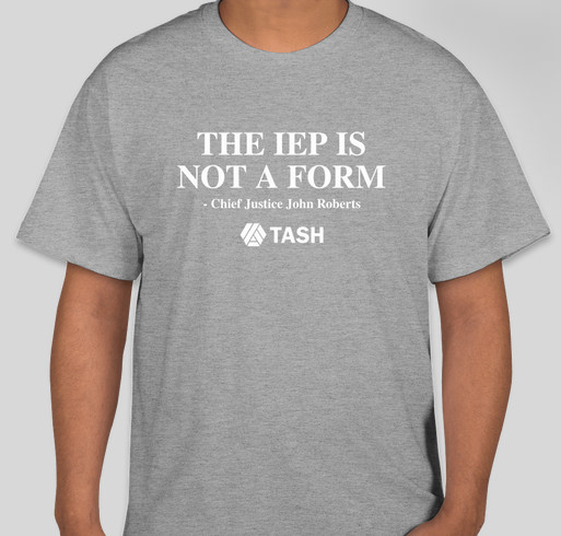 The IEP is Not a Form Campaign Fundraiser - unisex shirt design - front