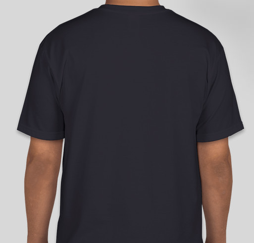RESCUE, ONE BY ONE, UNTIL THERE ARE NONE Fundraiser - unisex shirt design - back