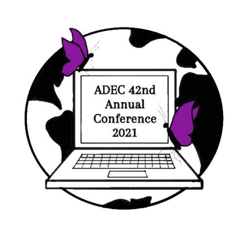 ADEC 2021 Conference Shirt shirt design - zoomed