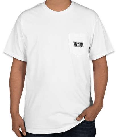 Gildan Hammer Pocket T-shirt - White