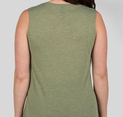 Labhair Gaeilge Liom Fundraiser - unisex shirt design - back