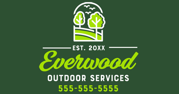 everwood landscaping yard sign