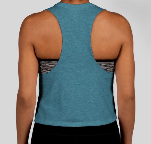 Cambio Yoga T-shirt Fundraiser Fundraiser - unisex shirt design - back