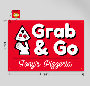 grab and go pizza