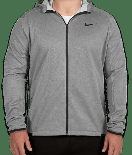 Custom Nike Full Zip Sweatshirt
