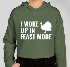 I woke up in feast mode
