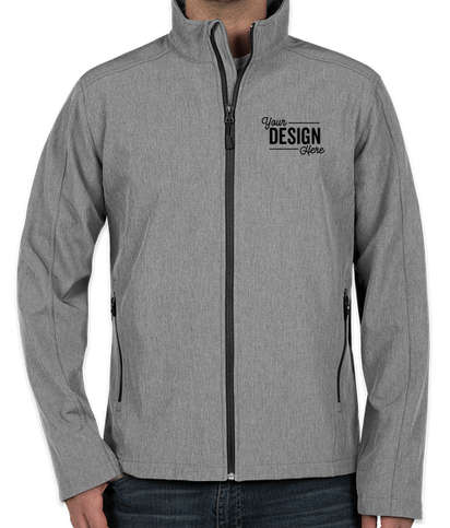Port Authority Core Fleece Lined Soft Shell Jacket - Pearl Grey Heather