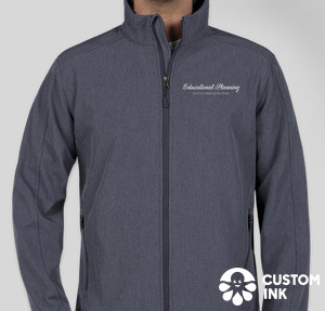 Port Authority Core Fleece Lined Soft Shell Jacket — Navy Heather