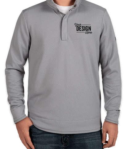 Under Armour Quarter Snap Up Sweater Fleece - Steel