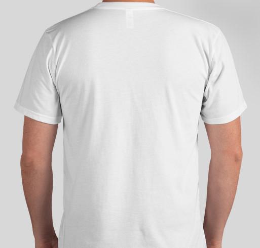 Thrive on the Inside - Habitat for Canaries Fundraiser - unisex shirt design - back