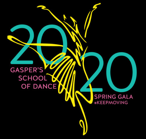 Gasper Spring Gala shirt design - zoomed