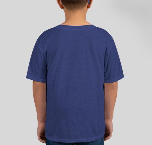Caleb Greenwood Spirit Wear 2020 Fundraiser - unisex shirt design - back