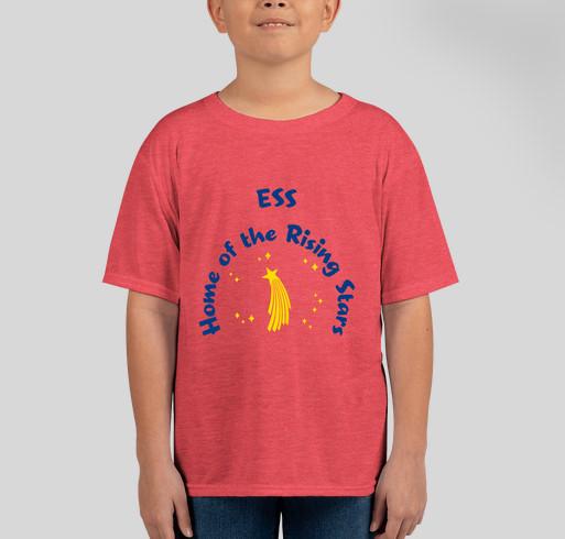 ESS Spirit Wear 2020-2021 Fundraiser - unisex shirt design - front