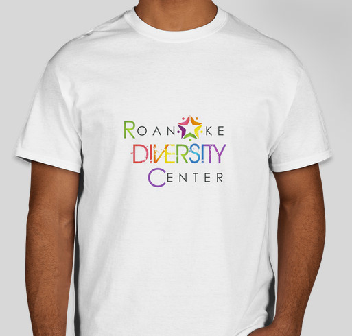 Roanoke diversity center custom ink fundraising for Custom t shirts roanoke va
