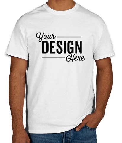 Gildan 100% Cotton T-shirt - White