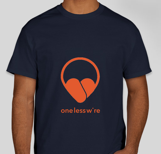 Alex's 3rd Diagnos-iversary Fundraiser for OneLessWire, Inc. Fundraiser - unisex shirt design - front