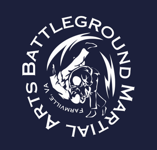 Battleground Martial Arts Fundraiser shirt design - zoomed