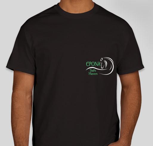 Epona Safe Haven equine rescue fundraiser Fundraiser - unisex shirt design - front