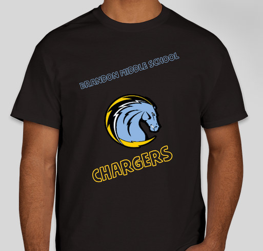 Support Brandon Middle School PTA Fundraiser - unisex shirt design - front