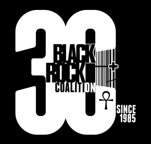 Black Rock Coalition 30th Anniversary Limited Edition T-Shirt shirt design - zoomed