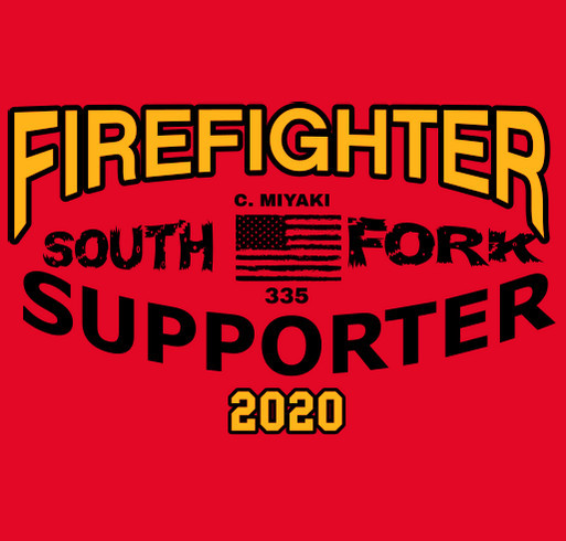South Fork Fire Rescue Annual Fish Fry shirt design - zoomed