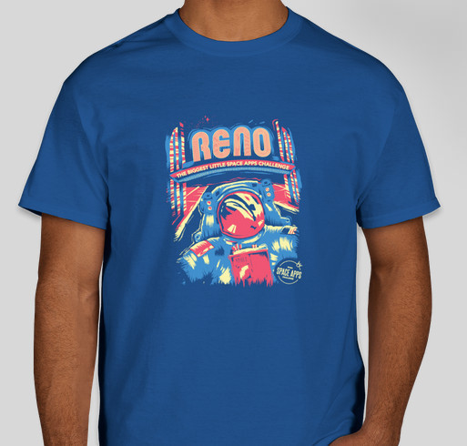 Space Apps Reno 2017 Fundraiser - unisex shirt design - front