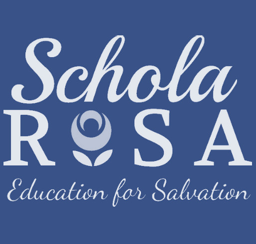 2019-2020 Schola Rosa and R.A.S. Online Academy T-Shirts shirt design - zoomed