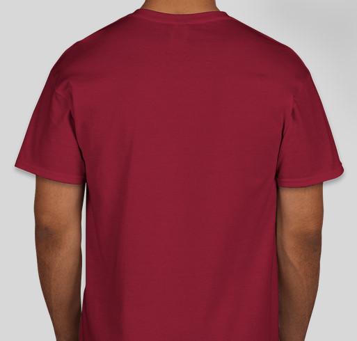 PG XVIII Store Fundraiser - unisex shirt design - back