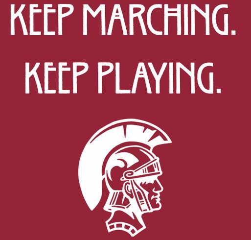 La Cañada High School Marching Band 2005-2021 shirt design - zoomed