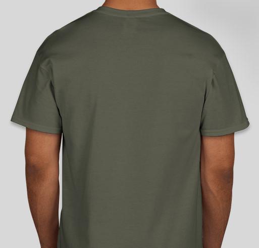 Friends of SOUTH FORK FIRE Fundraiser - unisex shirt design - back