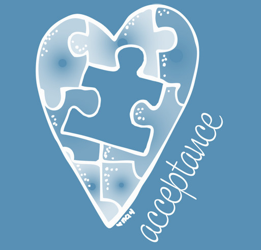 Autism Awareness T-Shirt shirt design - zoomed